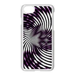 Background Texture Pattern Apple Iphone 8 Seamless Case (white)