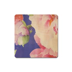 Fabric Textile Abstract Pattern Square Magnet