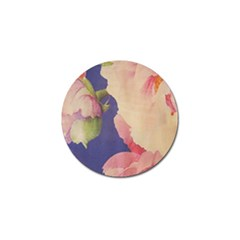 Fabric Textile Abstract Pattern Golf Ball Marker (4 Pack)