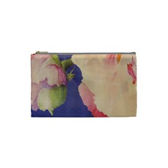 Fabric Textile Abstract Pattern Cosmetic Bag (small)