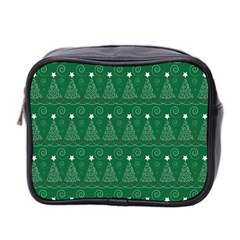 Christmas Tree Holiday Star Mini Toiletries Bag 2-side