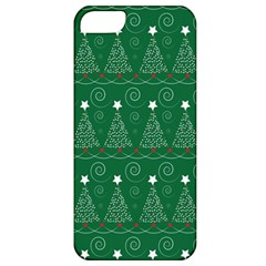 Christmas Tree Holiday Star Apple Iphone 5 Classic Hardshell Case by Celenk