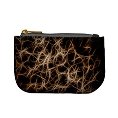 Structure Background Pattern Mini Coin Purses