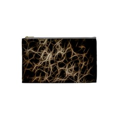 Structure Background Pattern Cosmetic Bag (small)  by Celenk
