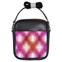 Background Texture Pattern 3d Girls Sling Bags