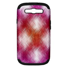 Background Texture Pattern 3d Samsung Galaxy S Iii Hardshell Case (pc+silicone) by Celenk