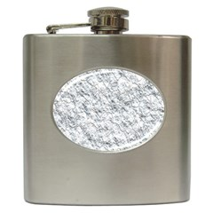 Pattern Background Old Wall Hip Flask (6 Oz) by Celenk