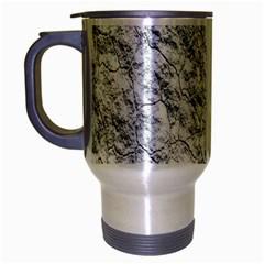 Pattern Background Old Wall Travel Mug (silver Gray) by Celenk