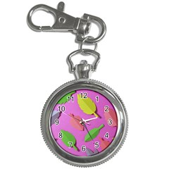Leaves Autumn Nature Trees Key Chain Watches by Celenk
