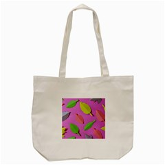 Leaves Autumn Nature Trees Tote Bag (cream) by Celenk