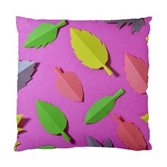 Leaves Autumn Nature Trees Standard Cushion Case (two Sides) by Celenk