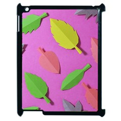 Leaves Autumn Nature Trees Apple Ipad 2 Case (black)