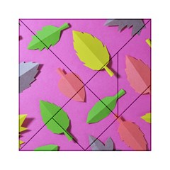 Leaves Autumn Nature Trees Acrylic Tangram Puzzle (6  X 6 ) by Celenk