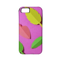 Leaves Autumn Nature Trees Apple Iphone 5 Classic Hardshell Case (pc+silicone) by Celenk