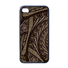 Abstract Pattern Graphics Apple Iphone 4 Case (black)