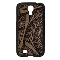 Abstract Pattern Graphics Samsung Galaxy S4 I9500/ I9505 Case (black)