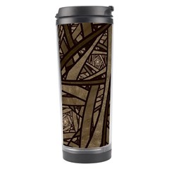 Abstract Pattern Graphics Travel Tumbler by Celenk