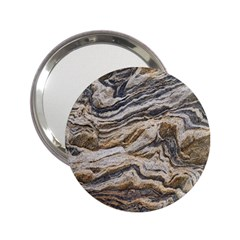 Texture Marble Abstract Pattern 2 25  Handbag Mirrors