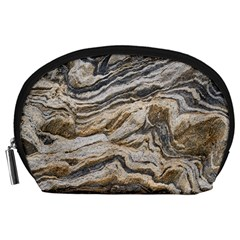 Texture Marble Abstract Pattern Accessory Pouches (large)  by Celenk