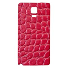 Textile Texture Spotted Fabric Galaxy Note 4 Back Case by Celenk