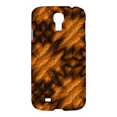 Background Texture Pattern Samsung Galaxy S4 I9500/i9505 Hardshell Case by Celenk
