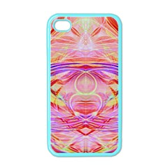 Cosmic Energy Pattern Apple Iphone 4 Case (color) by Cveti
