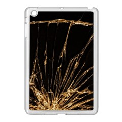 Background Abstract Structure Apple Ipad Mini Case (white)