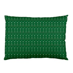 Christmas Tree Pattern Design Pillow Case (two Sides)