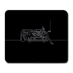 Arctic Monkeys Large Mousepads by Valentinaart