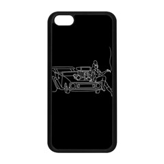 Arctic Monkeys Apple Iphone 5c Seamless Case (black) by Valentinaart