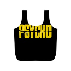 Psycho  Full Print Recycle Bags (s)  by Valentinaart