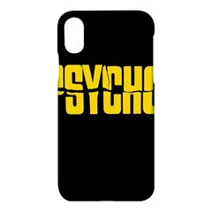 Psycho  Apple Iphone X Hardshell Case