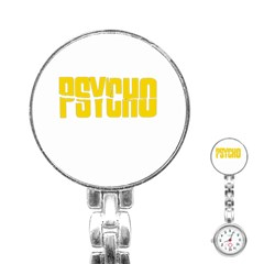 Psycho  Stainless Steel Nurses Watch by Valentinaart