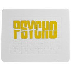 Psycho  Jigsaw Puzzle Photo Stand (rectangular) by Valentinaart