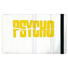 Psycho  Apple Ipad Pro 9 7   Flip Case by Valentinaart