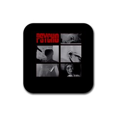 Psycho  Rubber Square Coaster (4 Pack)