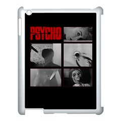 Psycho  Apple Ipad 3/4 Case (white) by Valentinaart