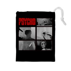 Psycho  Drawstring Pouches (large)