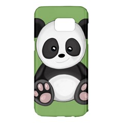 Cute Panda Samsung Galaxy S7 Edge Hardshell Case