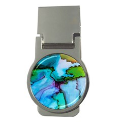 Abstract Painting Art Money Clips (round)