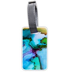 Abstract Painting Art Luggage Tags (one Side)  by Celenk