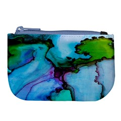 Abstract Painting Art Large Coin Purse by Celenk