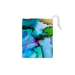 Abstract Painting Art Drawstring Pouches (xs)