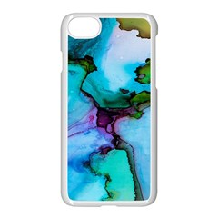 Abstract Painting Art Apple Iphone 7 Seamless Case (white)