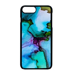 Abstract Painting Art Apple Iphone 8 Plus Seamless Case (black)