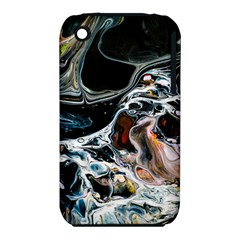 Abstract Flow River Black Iphone 3s/3gs by Celenk