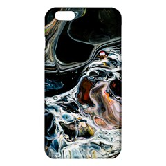Abstract Flow River Black Iphone 6 Plus/6s Plus Tpu Case by Celenk