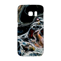 Abstract Flow River Black Galaxy S6 Edge by Celenk