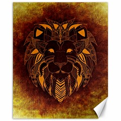 Lion Wild Animal Abstract Canvas 16  X 20