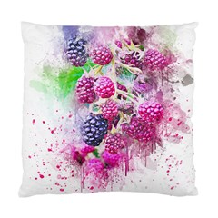 Blackberry Fruit Art Abstract Standard Cushion Case (two Sides)